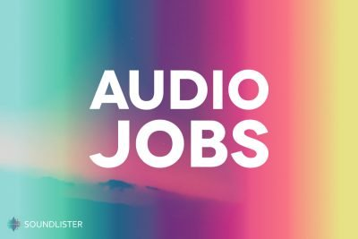 Audio jobs by Soundlister