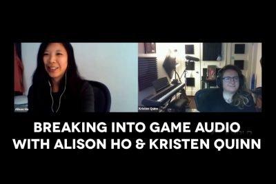 Breaking into game audio