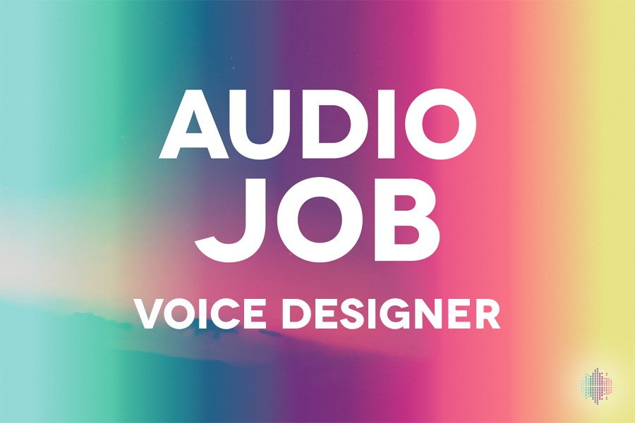Audio Job Voice Designer