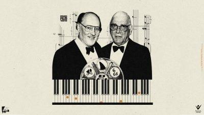 Film sound composers John Williams & Jerry Goldsmith