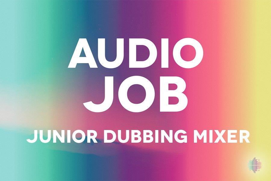 Junior Dubbing Mixer Audio Job